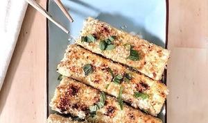 Tofu croustillant au sésame et sauce nuoc cham