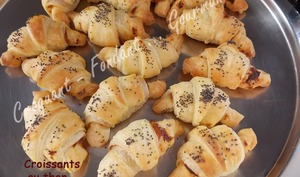 Croissants au thon