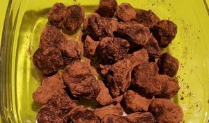 Truffes chocolat amandes
