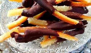 Orangettes au Chocolat Maison