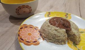 Bowlcake à la banane et flocons d'avoine