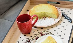 Le gâteau vert de Lucile