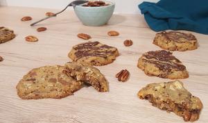 Cookies aux noix de pécan et chocolat