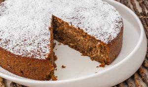 Gâteau fondant aux noix