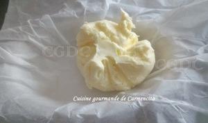 Beurre doux fait maison