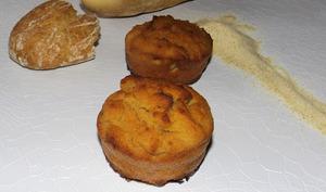Muffins sans beurre au pain sec