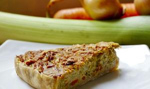 Tarte alcaline végétarienne sans gluten ni lactose