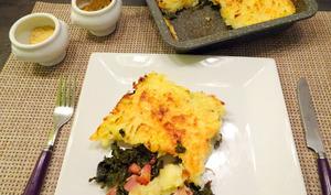 Chou Kale au four