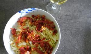 Salade tyrolienne au speck