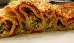Cannellonis à la brousse et aux blettes
