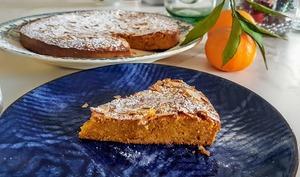 Fondant à la marmelade d'oranges et aux amandes