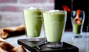 Smoothie avocat thé matcha