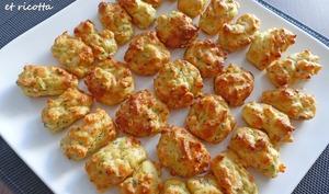 Mini muffins saumon fumé et ricotta