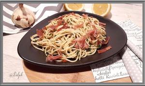Spaghetti à la persillade Italienne