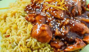 Poitrine de poulet à la sauce soja