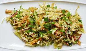 Salade alcaline de 3 crudités