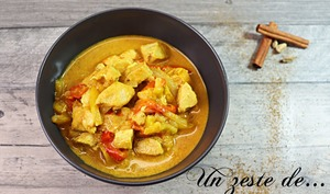 Curry Thaï de poulet