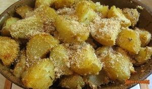 Pommes de terre crousti-fondantes à l'ail et au romarin - sucreetepices.over-blog.com