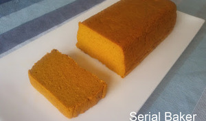 Cake fondant au potimarron et à l'orange