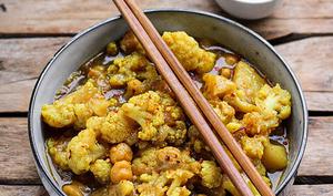 Curry japonais au chou-fleur