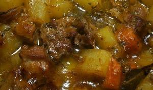 Irish stew, Ragout d'agneau irlandais