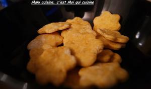 Crackers au paprika
