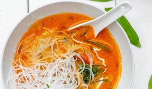 Tom Yam, soupe thaïe au lait de coco
