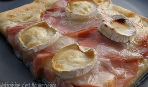 Pizza Bacon Chèvre et Miel