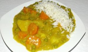 Curry de légumes japonais