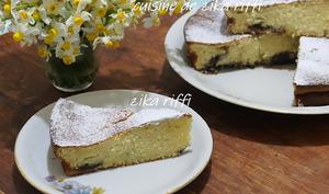 Gâteau moelleux au citron vert entier et ricotta