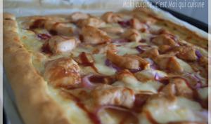 Pizza Poulet Soja et Barbecue