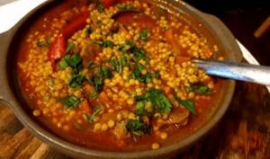 Berkoukes à la Viande et légumes