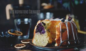Bundt cake aux bleuets