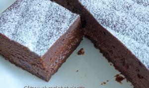 Gâteau chocolat et ricotta