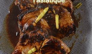 Échine porc à l'asiatique