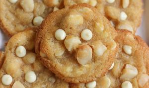 Cookies chocolat blanc et noix de macadamia