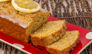 Cake au citron et graines de chia
