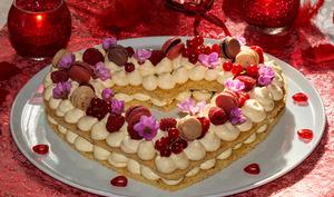 Cœur gourmand pour St-Valentin