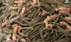 Spaghettis à la crème de lardons fumés