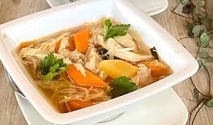 Soupe de poulet New-yorkaise