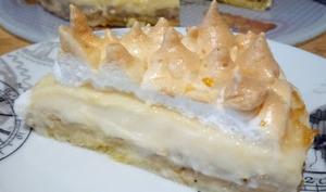 La tarte à la banane meringuée