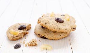 Cookies aux pépites de chocolat et citron confit