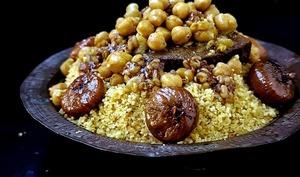 Couscous aux Msakhen Megfoul