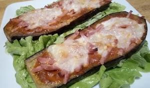 Les tartines d'aubergine façon pizza