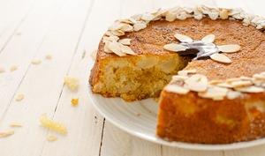 Gâteau poire et gingembre