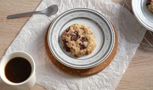 Cookies vegan moelleux au chocolat noir