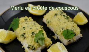 Merlu en croûte de couscous