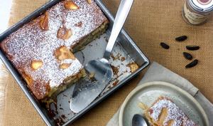 Gâteau moelleux pommes poires