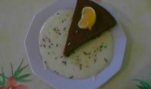 Gâteau au chocolat et aux clémentines
