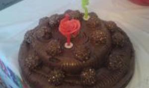 Gâteau au Chocolat Nutella et Ferrero